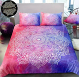 Paradise (Blue & Pink) Bed Set