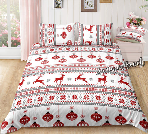 Christmas Jumper 2 Bed Set - New