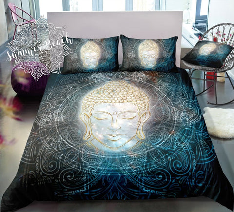 Sun Mandala Buddha Bed Set