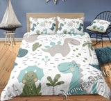 Dinosaur Adventure Bed Set - New