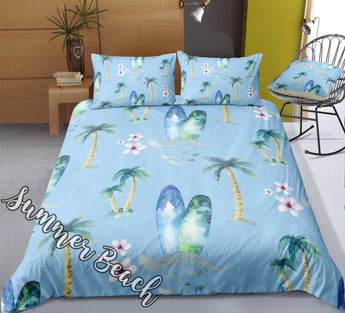 Surfs Up Bed Set - New