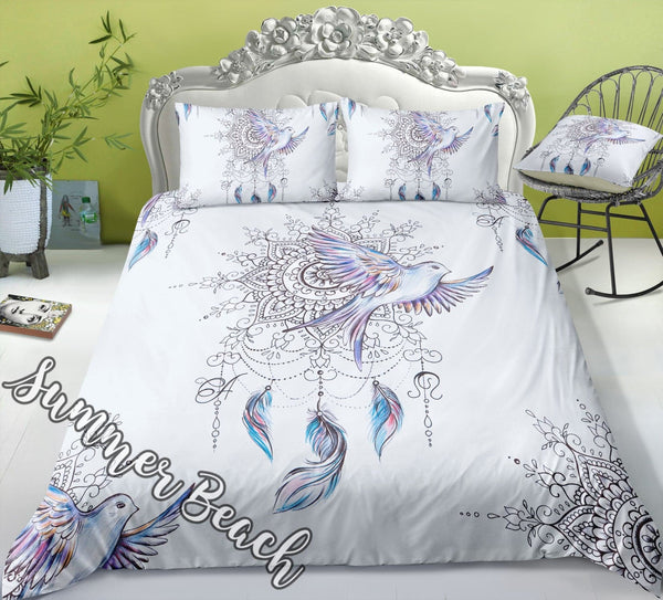 Mandala Dove Bed Set - New
