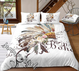 Boho Indian Bed Set - New
