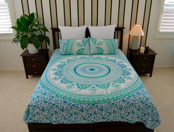 Green Star Ombre' Bed Set - B1
