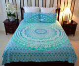 "Green Ombre"" Bed Set - B3"