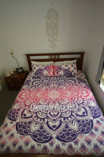 Pink & Purple Mermaid Bed Set - B58