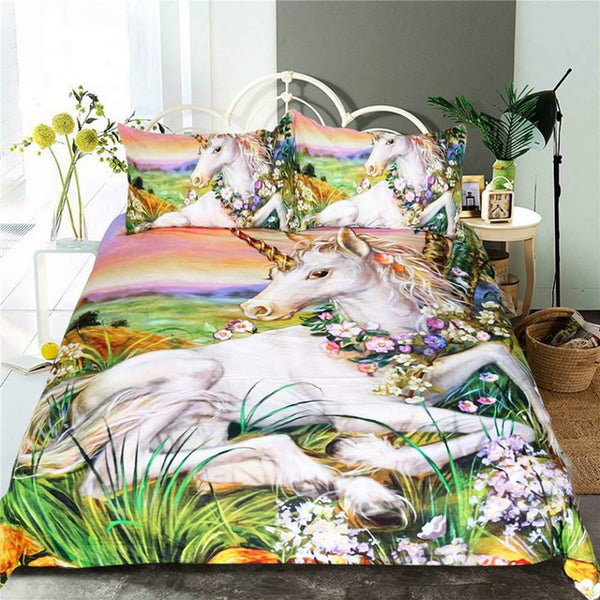 Unicorn Bed Set - WELL BELOW COST (SINGLE SIZE ONLY)