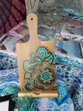 Hand Painted Wooden Mandala IPad/Tablet/Book holder - Board27