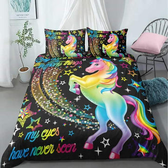My Heart Believes In Many Things Bed Set