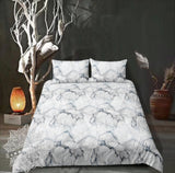 White Marble Bed Set - New Product Pre Order