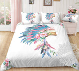 Indian Head Dress Bed Set