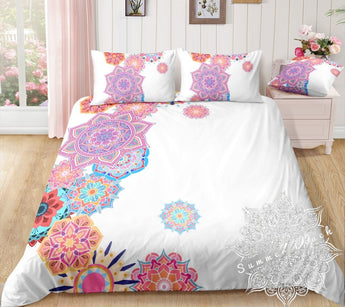 Pastel Mandalas Bed Set