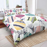 Christmas Colorful Baubles Bed Set