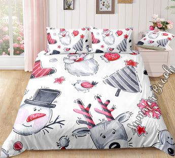 Christmas Bed Set - New