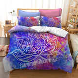 Watercolour Lotus Bed Set - New Product