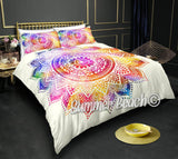 Rainbow Dreams White Bed Set - New Product
