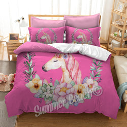 Princess Sofie Unicorn Pink Bed Set - New Product