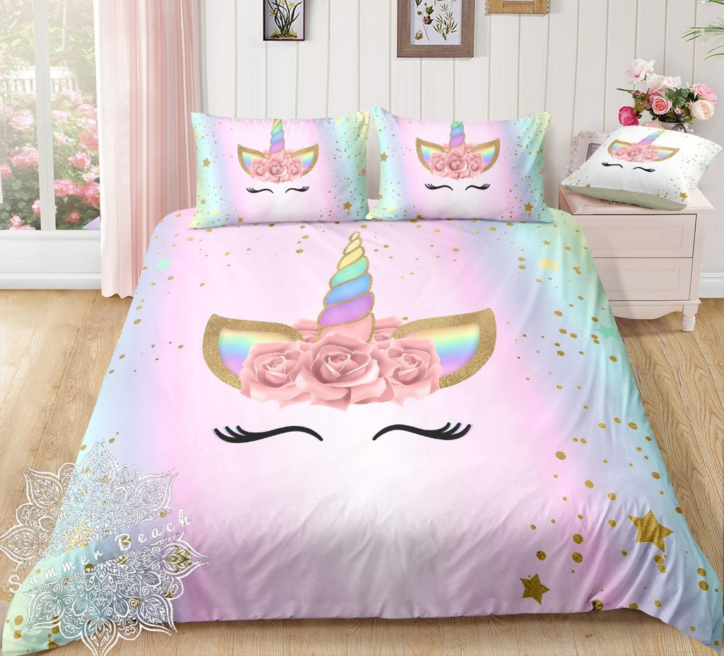 Lashes Unicorn Bed Set New Product Pre Order Summer