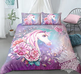 Princess Jasmine Unicorn Bed Set