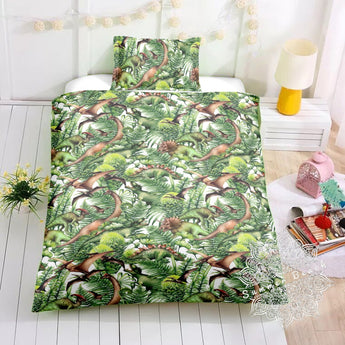 Dino Jungle Bed Set