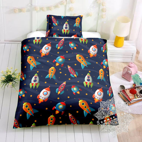 Rocket Ship Bed Set - New Product Pre Order