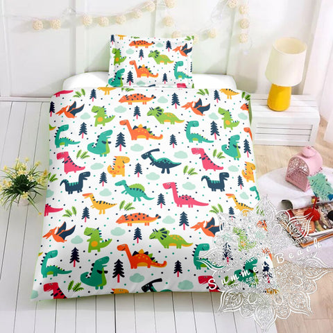 Dino Exploration Bed Set