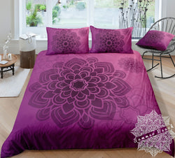 Purple Mandala Bed Set - New Product Pre Order
