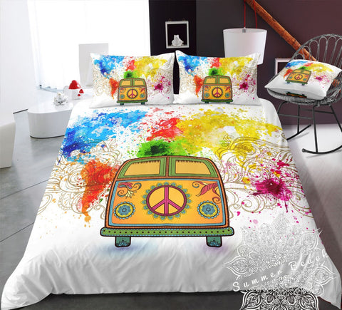 Colour Paint Kombi Van Bed Set