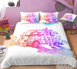 Surfs Up Kombi Van Bed Set