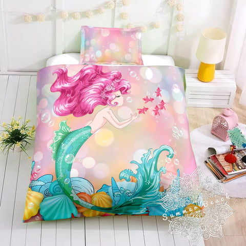 Mermaid Jewel Bed Set