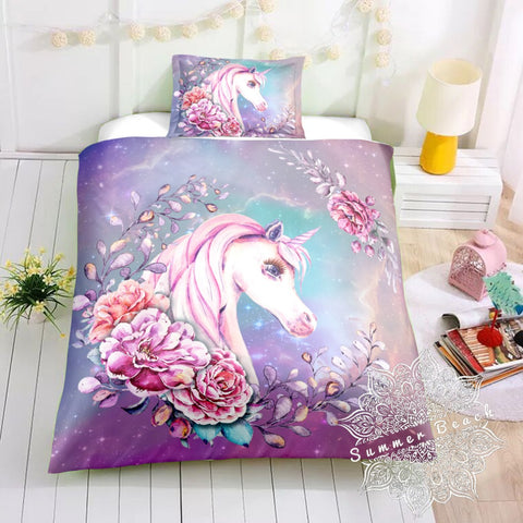 Princess Jasmine Unicorn Bed Set - New Product Pre Order