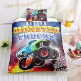 Monster Truck Bed Set