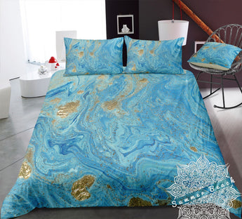 Golden Summer Bed Set