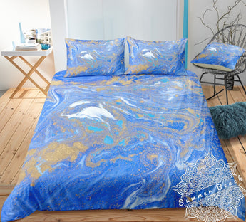 Golden Seas Bed Set