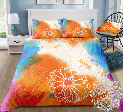 Summer Fields Bed Set