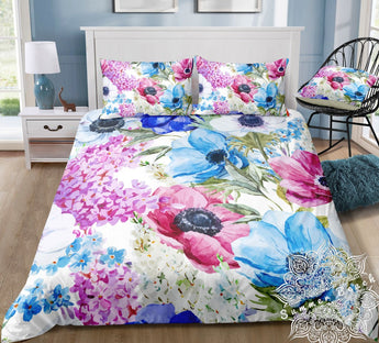 Spring Bouquet Bed Set - New