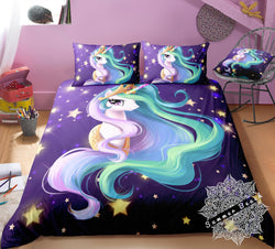 Twilight Unicorn Bed Set - New