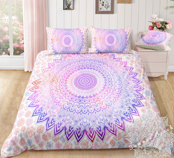 Pink Sunrise Bed Set