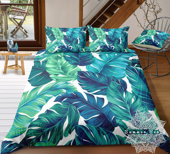 Tropical Palm Bed Set - New