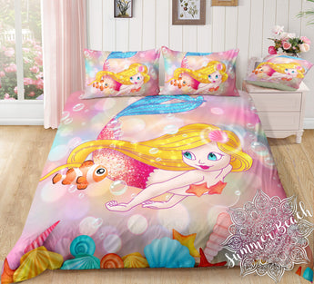 Mermaid Alana Bed Set