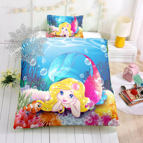 Mermaid Aquata Bed Set