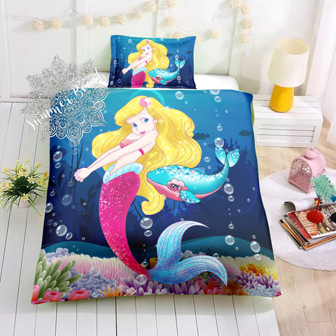 Mermaid Adela Bed Set