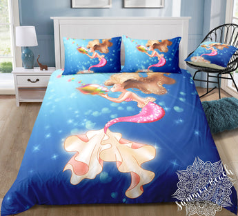 Mermaid Arista Bed Set