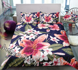Tropical Lily Bed Set - New