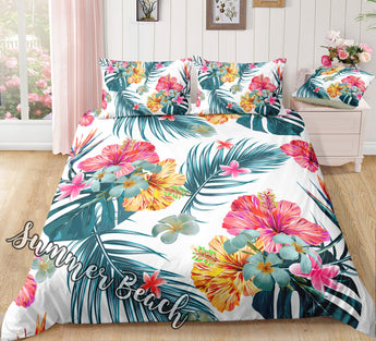 Hawaii Summer Bed Set - New