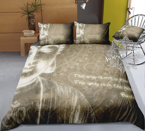 The Way Buddha Bed Set