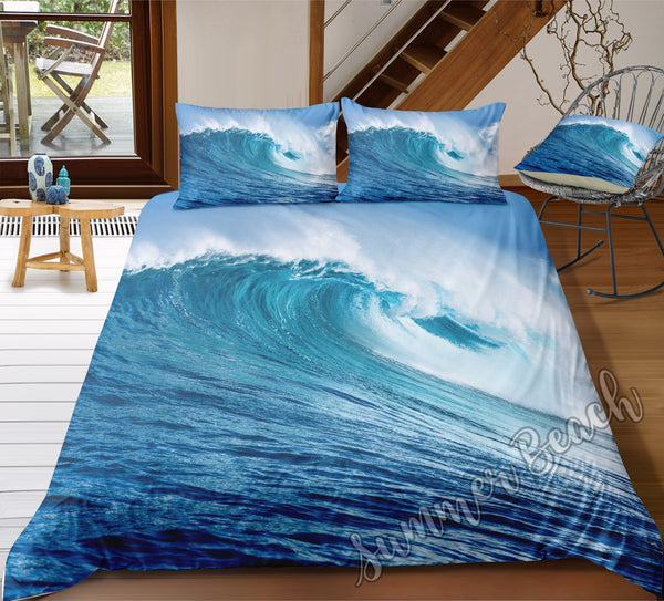 Crashing Waves Bed Set - New