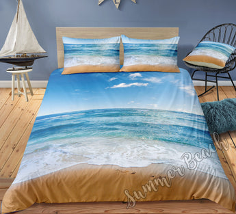 Beach walks Bed Set - New