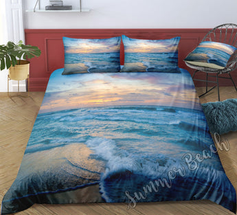 Sunset Beach Bed Set - New