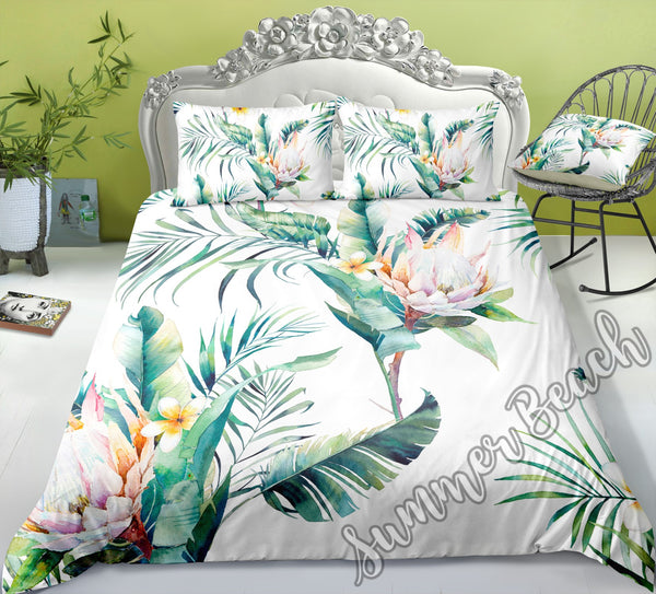 Tropical Bouquet Bed Set - New